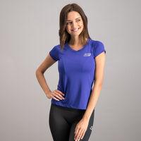 Playera Skechers Manga Corta Sport Running para Mujer