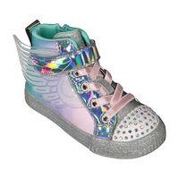 Bota Skechers Twinkle Toes Lite: Shuffle Brights - Lil Sparkle Wings para Niña