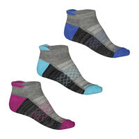 Calcetines Skechers Sports 3 Pack para Mujer