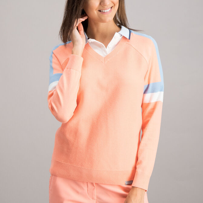 Sweater Skechers Go Golf Performance para Mujer