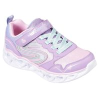 Tenis Skechers S Lights: Heart Lights - Love Spark para Niña