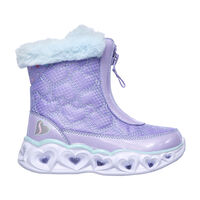 Bota Skechers S Lights: Heart Lights - Happy Hearted para Niña