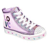 Tenis Skechers Twinkle Toes Flip Kicks: Twi-Lites 2.0 - Lilac Love para Mujer