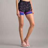 Short Skechers 2 en 1 Sport Running para Mujer