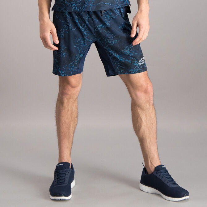 """Short Skechers 2 en 1 Sport 7"""" Running para Hombre"""