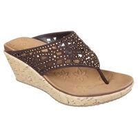 Sandalia Skechers Cali Beverlee - Dazzled para Mujer