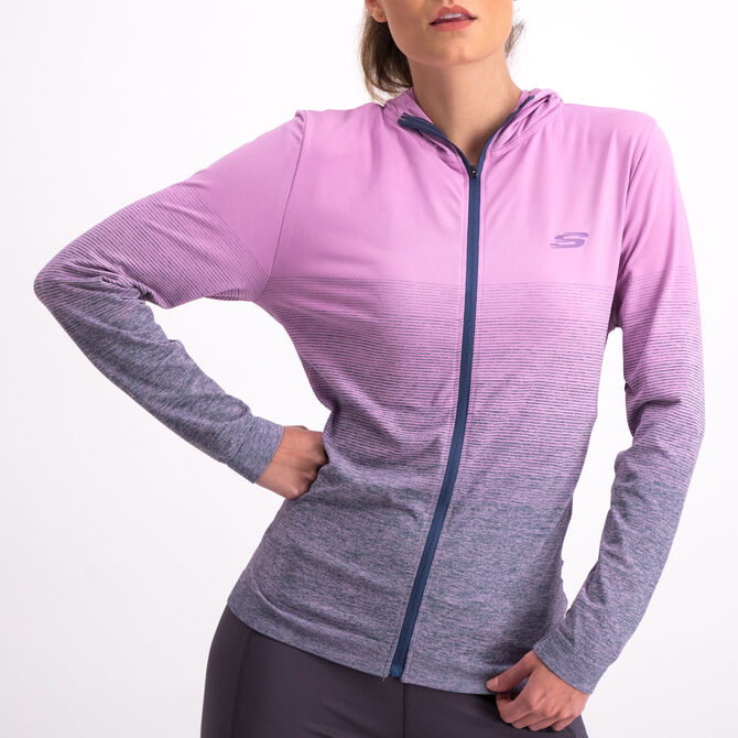 Chamarra Seamless Skechers Sport  Fitness para Mujer