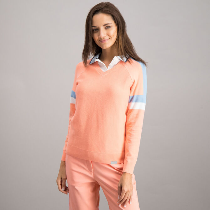Sweater Skechers Go Golf Performance para Mujer