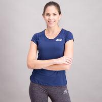 Playera Skechers Manga Corta Sport Fitness para Mujer