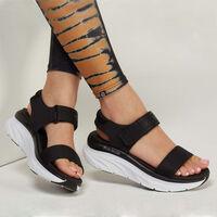 Sandalia Skechers Cali: D'Lux Walker - New Block para Mujer