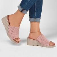 Sandalia Skechers Modern Comfort: Pier Ave - Urban Escape para Mujer