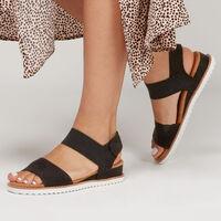 Sandalia Skechers Bobs: Desert Kiss para Mujer