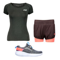 Key Look Skechers Go Run Fast - Lively para Mujer