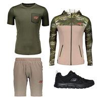 Key Look Skechers Sport Track para Hombre