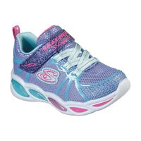 Tenis Skechers S Lights: Shimmer Beams - Sporty Glow para Niña