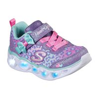 Tenis Skechers S Lights: Heart Lights - Untamed Heart para Niña