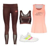 Key Look Skechers Go Run Focus para Mujer