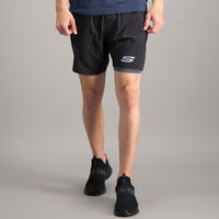 "Short Skechers 2 en 1 Sport Training 7"" para Hombre"