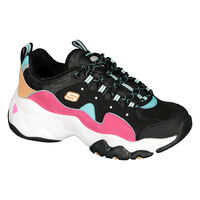 Tenis Skechers D'Lites 3 - Brave Output para Mujer