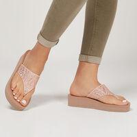 Sandalia Skechers Cali Vinyasa - Stone Candy para Mujer