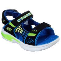 Sandalia Skechers S Lights: E II Sandal - Beach Glowers para Niño