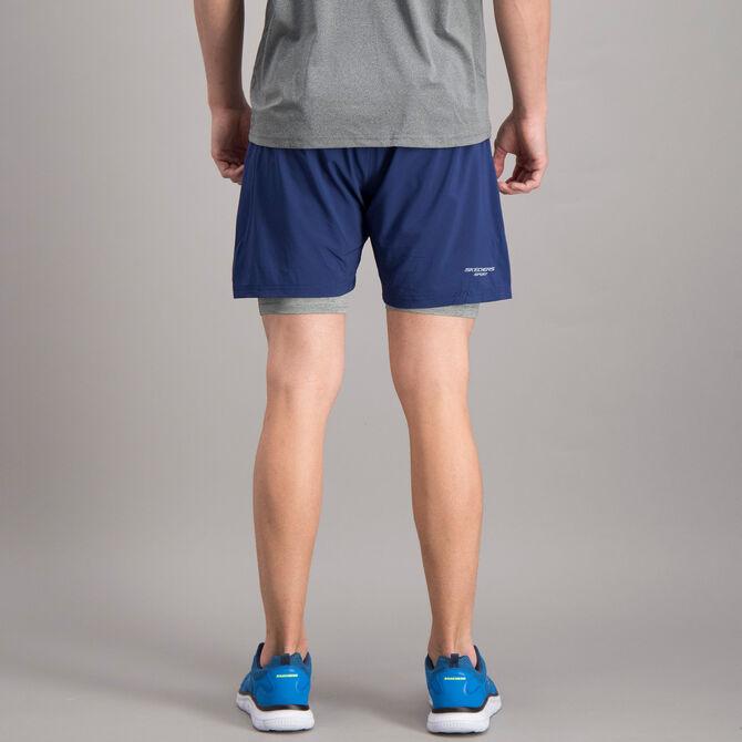 "Short Skechers 2 en 1 Sport Training 7"" para Hombre"